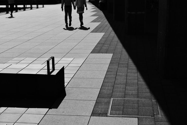 Streetphotography Silhouette Light And Shadow Black And White
