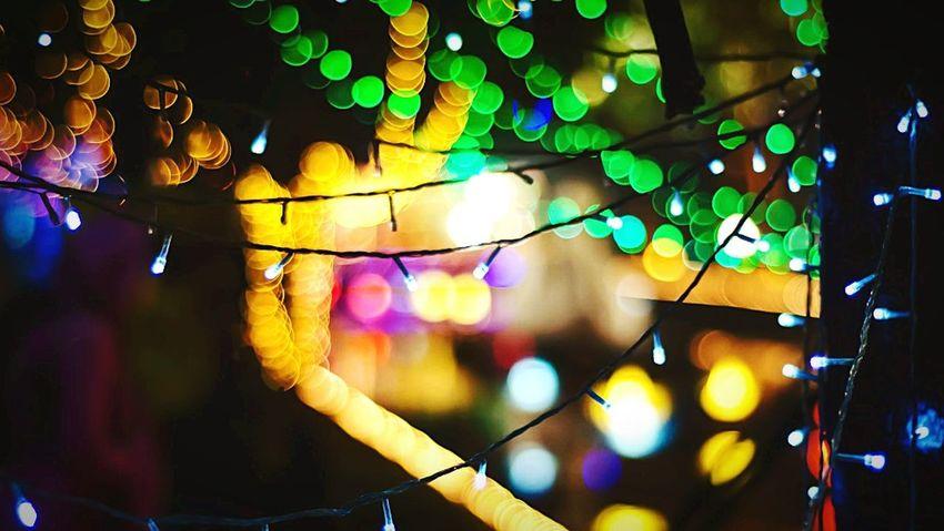 Best Christmas Lights Christmas Lights Christmastime Bokeh Eye4photography  OpenEdit EyeEm Best Shots