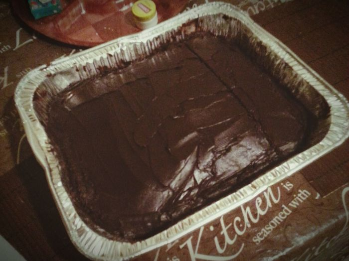 Dark Chocolate ♥ Cake♥ Baked Goods Yummy♡ Delicious ♡ Desert What's For Dessert Chocolate Cake Chocolate Time Love ♥