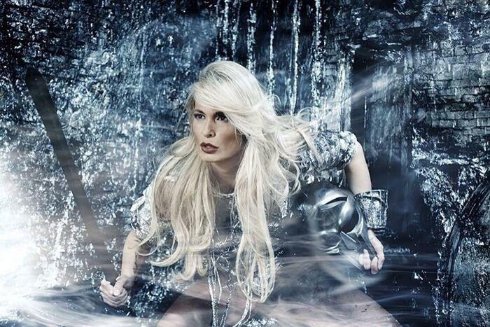 Elf Warrior Fantasy Fantasy Photography Dream War Battle Women Hair Mistic Forest Energy Action