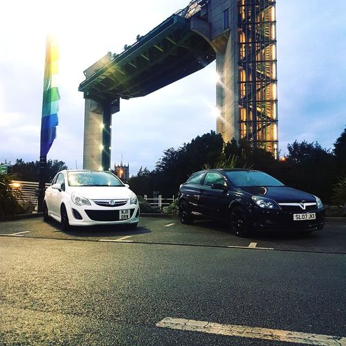 Lil drive out with a car friend Car Sky Transportation Built Structure Outdoors City No People Tree Taking Photos Transportation Enjoying Life Adventure Club Best Of EyeEm Eyeemvision Hull City Of Culture 2017 New Car Mode Of Transport Showingoff Tidalbarrier TheDeep