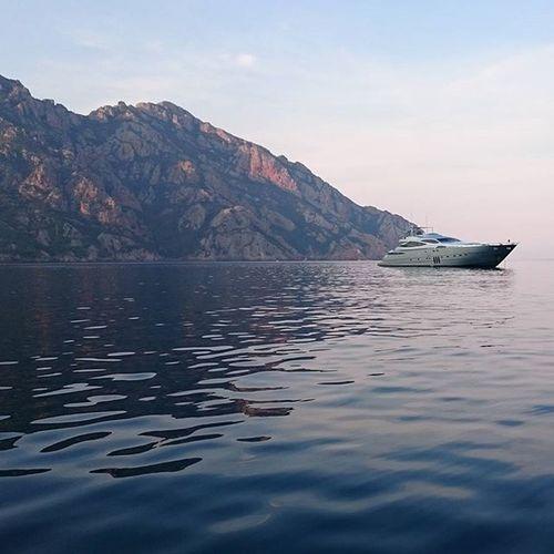 Corsica Girolata Pershing Yacht Yachtlife
