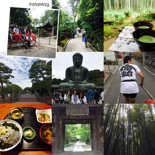 鎌倉旅行✨ 鎌倉 旅行 Trip 大仏 抹茶 人力車 Kamakura Jinrikisha Daibutsu