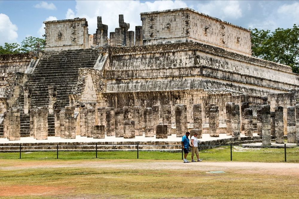 Mayan Ruins Architecture 7th Wonder Of World Yucatan Mexico Chichen Itza Wonder Of The World