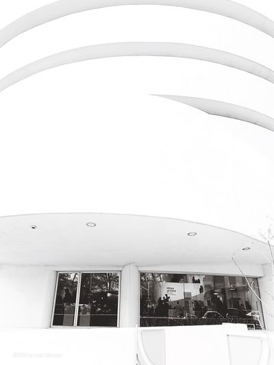 Guggenheim Black And White Collection  Blackandwhite Photography Architecture Built Structure Building Exterior Sky Nature Day EyeEmNewHere
