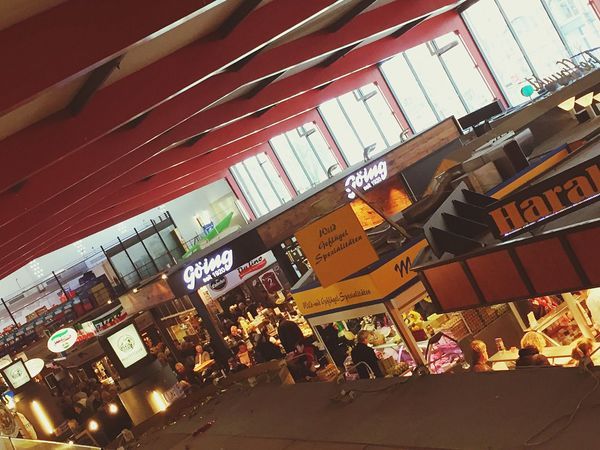 Markthalle Hannover Market Urban Enjoying Life Travel Photography Imbiss Snaks