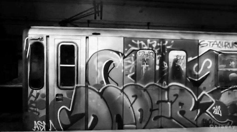 Monochrome Blackandwhite Public Transportation