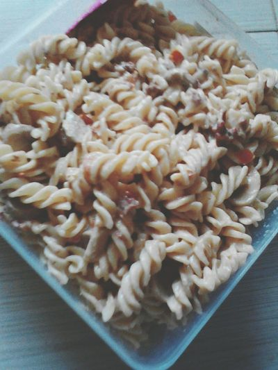 Swirl Pasta Snack Time! Food Freshness Indoors  Healthy Eating No People