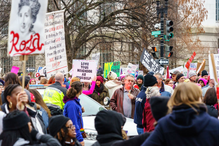 Activism America Anti Day Democracy Demonstration Feel The Bern Fight Protest Revolution Sign Trump USA Washington Washington, D. C. We The People Women Women March Women March On Washington Women's March Resist