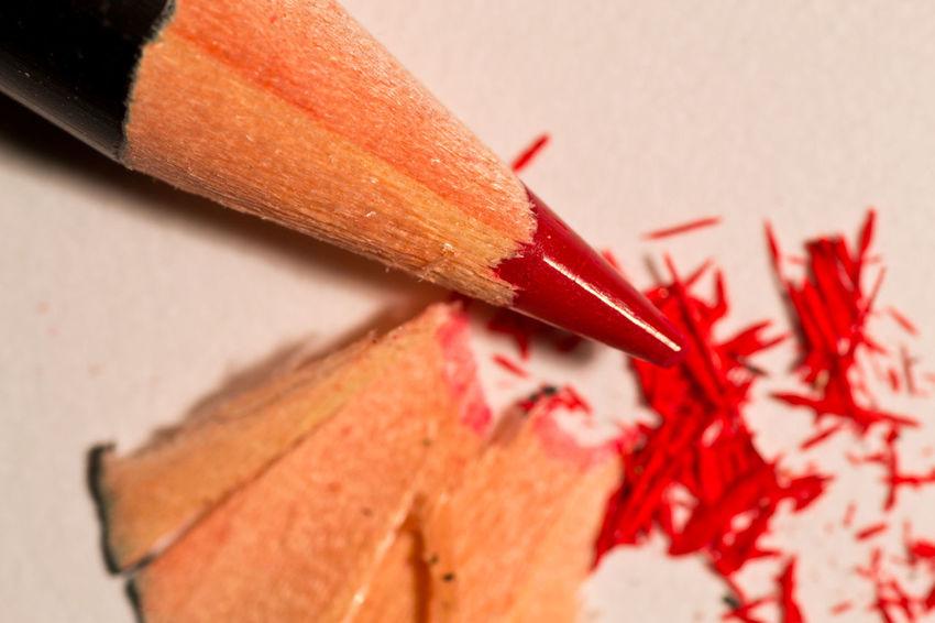 EyeEmNewHere Close-up Crayon Indoors  No People Pencil Red