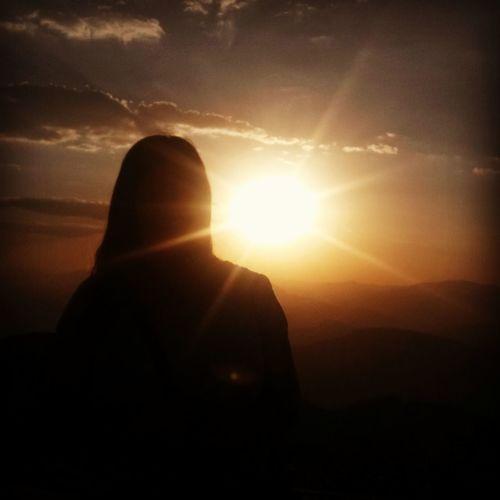 Nemrut Sunset Me Nature