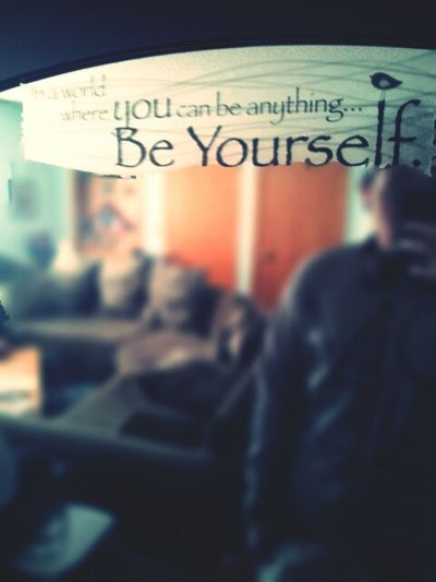 """""""In A World Where You Can Be Anything... Be Yourself"""" #ImDope"""