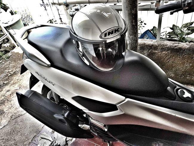 Ride like there's no tomorrow.. Yamaha Nmaxnation Motorbike Helmets