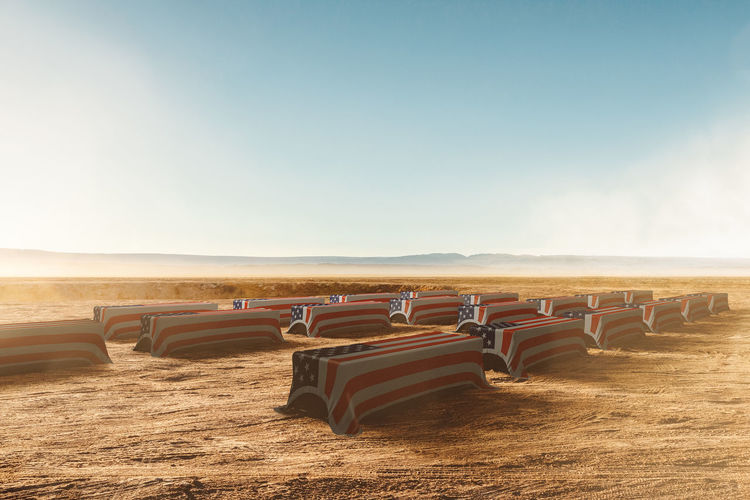 Coffins of