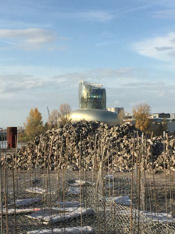 Autour Du Fleuve Sky Built Structure Day Outdoors Architecture No People Cloud - Sky Building Exterior Nature Water City