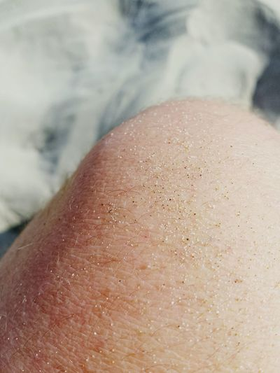 Cropped image of knee
