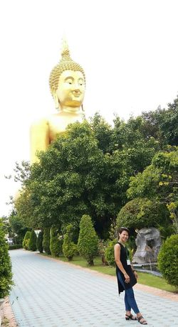 Big Buddha Statue Respect And Honor Thailand Peace Respect Big Buddha Temple Big Buddha, Thailand Big Buddha Statue Respectful Monk  Built Structure Architecture No People Thailand.. Thailand Photos Thai Temple