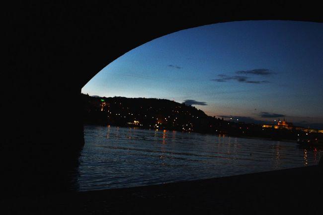 Travel Photography Love ♥ Prague Czech Republic Amazingplaces Underthebridge Evening Light