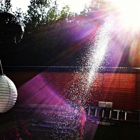 Swedish Summer Bathing Sprinkler