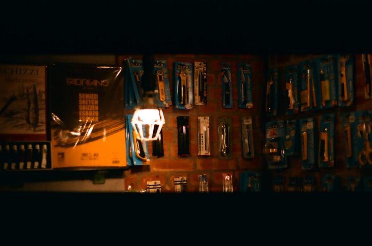 Light Canon Canonae1program Fujifilm Illuminated Indoors  Negatives Photography Tools Wide Shot Yellow First Eyeem Photo