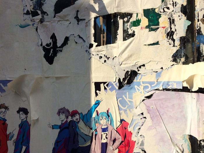 Architecture Art Backgrounds Building Built Structure Close-up Creativity Day Full Frame Graffiti Multi Colored No People Painting Poster Wall Street Art Wall Wall - Building Feature
