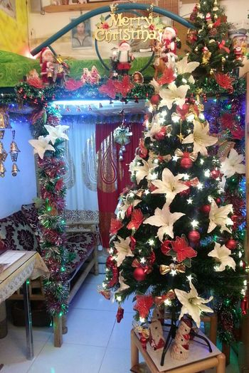 my home sweet home! mu Christmas decor at home for 2013 Christmas holidays...like it! View