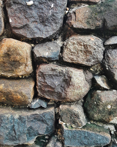 Wall of stones Stone Wall Wallofstones Smartphonephotography Samsung Experience J7 Samsung J7 Photography Samsung Nature Nature_collection Popular Photos Popular EyeEm Best Shots Backgrounds Full Frame Textured  Pattern Close-up