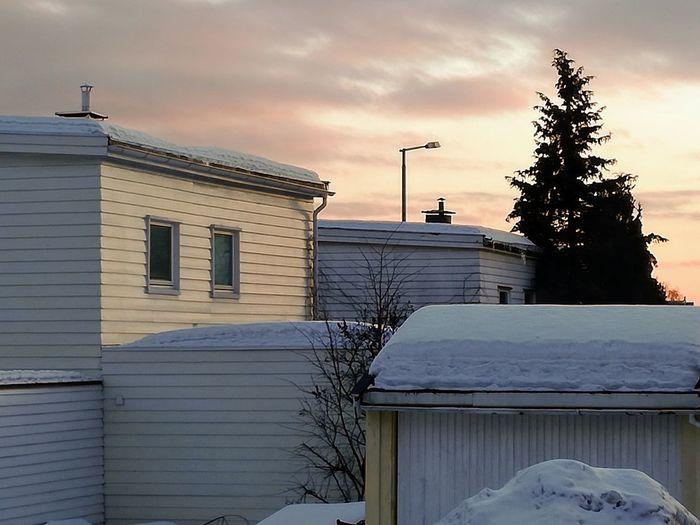 'SNOWTIME' Oslo KJ✨ Urban Extreme Weather Deep Snow Country House Frozen Snowfall TOWNSCAPE Weather