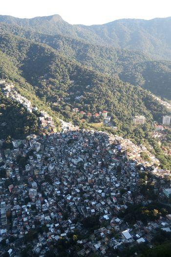 Rocinha favela and Tijuca rainforest. Rocinha Rio De Janeiro Landscape Brazil Favela Rainforest First Eyeem Photo