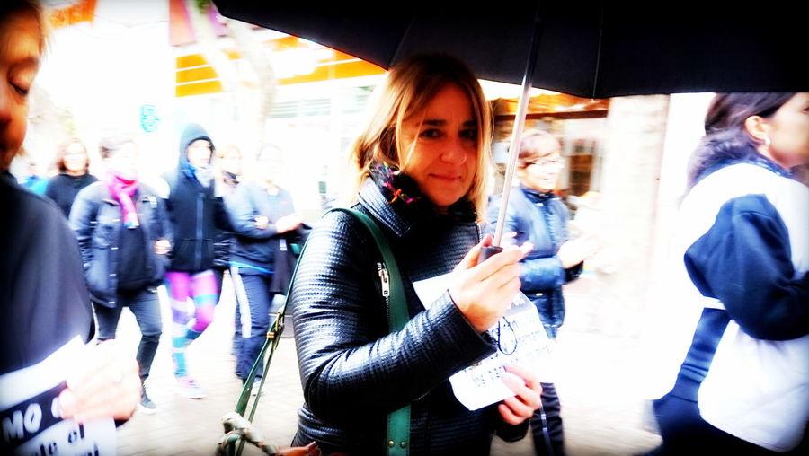 Outdoors MiercolesNegro Rain Drops Rain Woman