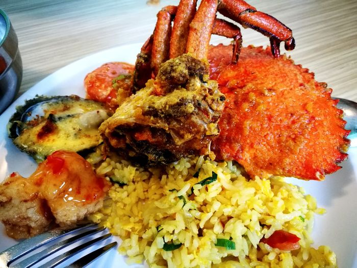 Salted Egg Crabs