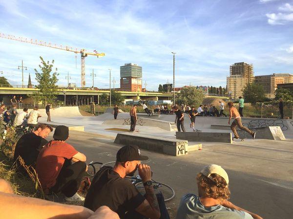 Skateboarding Skate Park Skatelife Fhain My Fuckin Berlin