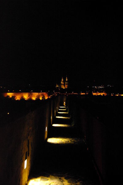 Beleuchtung Nachts Prague Prague Czech Republic Weg Illuminated Spirituality The Way Forward