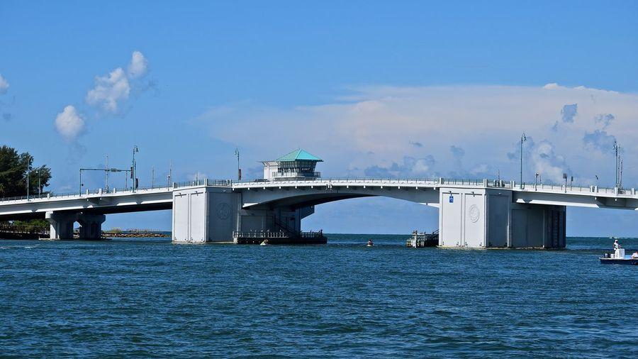 Astor bridge over st johns river against sky