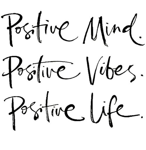 Positivity Where Is My Mind? Vibe Live Life Without Regrets Start Out Fresh And Enjoy ♡
