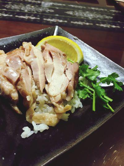 パクチー大好き。 Today's Dinner Asian Food Dinner 海南鶏飯 鶏飯 美味しい アジアン パクチー おうちごはん