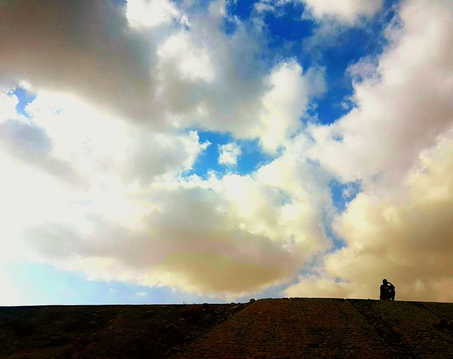 Cloud - Sky Sky Outdoors Full Length People Landscape Beauty In Nature Only Men Day Nature Photo Amazing Oman Man Distance Muscat Person Perfect Timing Bestphoto White Tourism Wow_oman PefectCapture Blue EyeEmNewHere