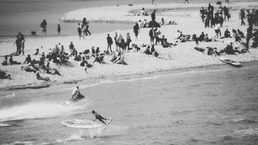Mondial Du Vent Sports Race Running Motion Water Sport Surfer Windsurfing