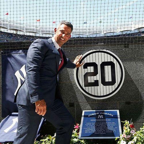 Hip hip Jorge! Number20 Retired Yankees Monumentpark newyork mlb sports blog http://www.jimbosports.com/promotion/hip-hip-jorge/
