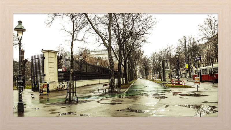 Vienna Impressionen Ymoart Check This Out Hallo World Water Wet Flood Outdoors Day Beach No People Shades Of Winter