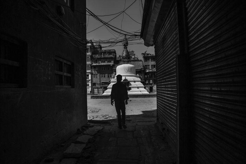 Nepal Kathmandu Blackandwhite Black And White Black & White Blackandwhite Photography Black And White Photography Man Streetphotography Street Street Photography ASIA Asian  Architecture Black And White Friday