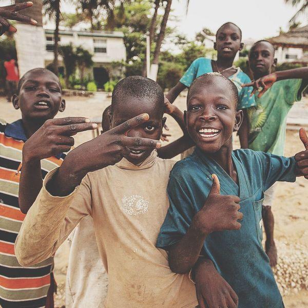 Africa Senegal Children