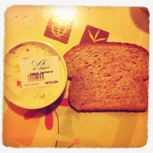 Tijd voor een lekker boterhammetje met Kathleen!