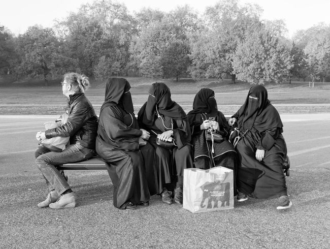 The bench Bench Black Muslim Parklife People Sitting The Street Photographer - 2017 EyeEm Awards Women