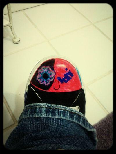 Shoes Art Awesome Chucks Rock