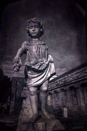Child of the night NEM Black&white Cemetery
