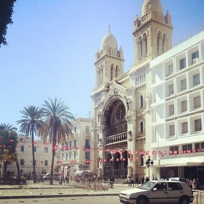 Livetunisia Downtown Bestoftunisia Tunisie Tunisia CathédraleDeTunis idreamoftunisia