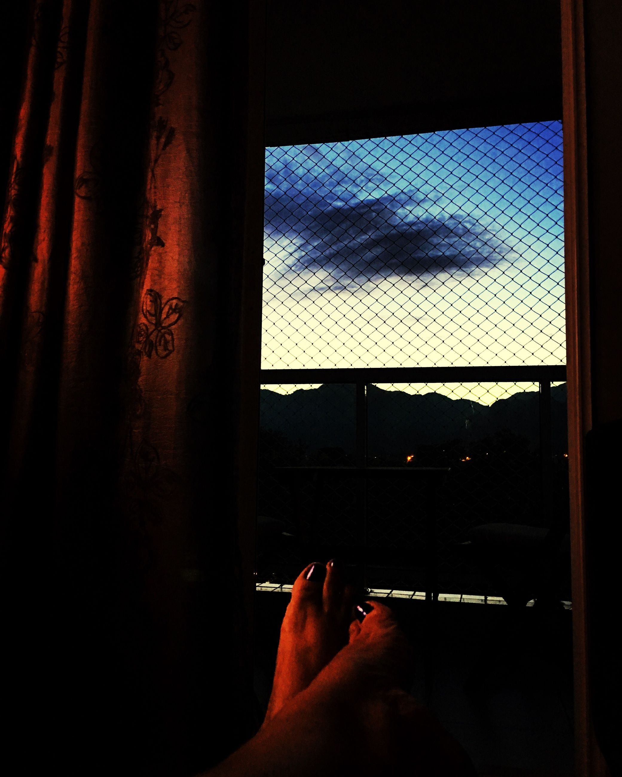 window, indoors, human hand, one person, human body part, vehicle interior, real people, close-up, day, sky, people