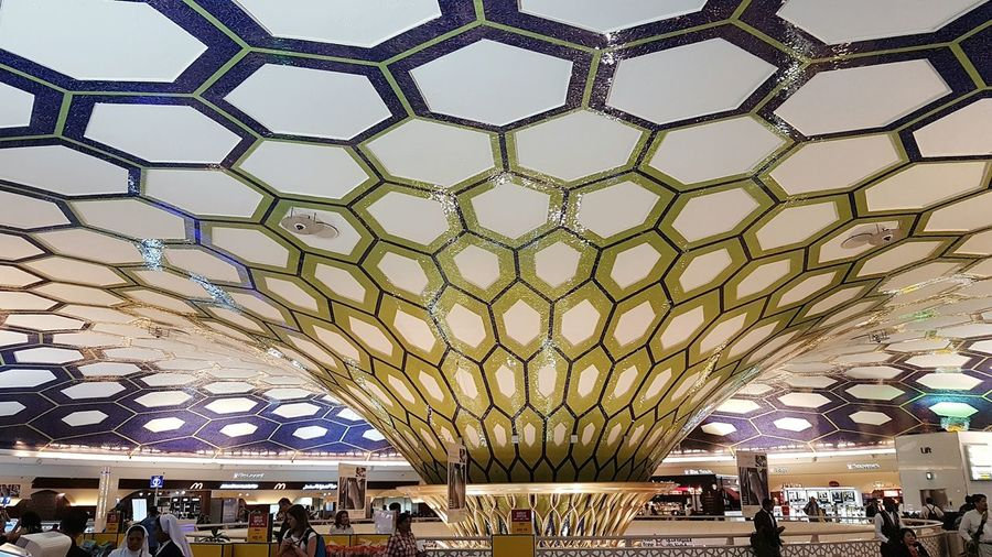 Architecture Large Group Of People People Built Structure Public Building Indoors  uWomen Adult Group Of People Modern Crowd Men Real People Business Adults Only Day Travel Destinations Travel Abu Dhabi AbuDhabiAirport Food And Drink