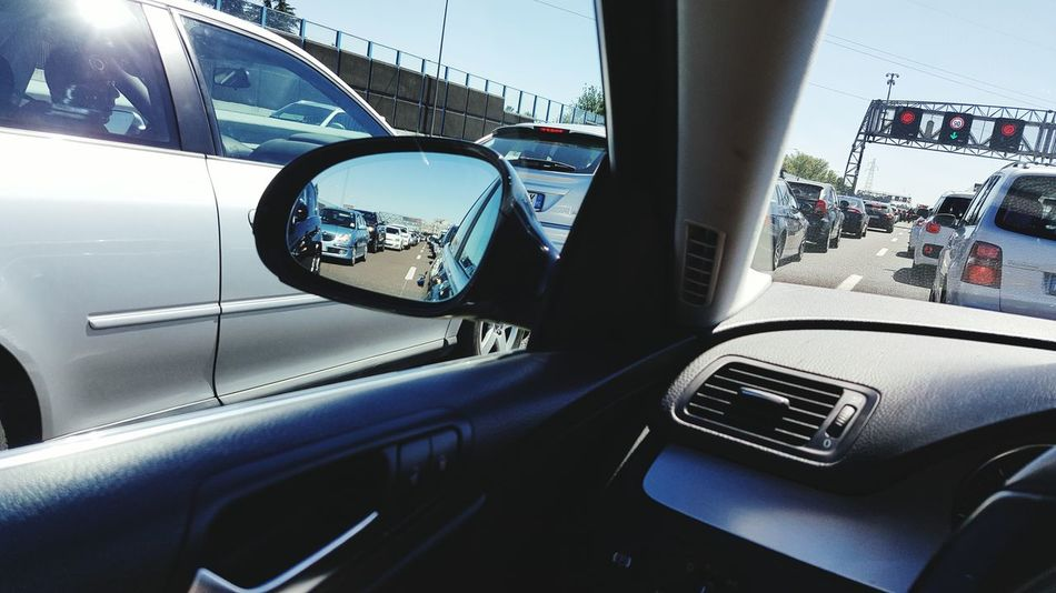 Car Transportation Land Vehicle Mode Of Transport Transparent Glass - Material Vehicle Interior Car Interior Travel Window Windshield Reflection On The Move Side-view Mirror Dashboard Looking Through Window Luxury Steering Wheel Road Journey